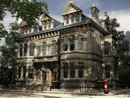 Victorian Mansion Wales by sword62