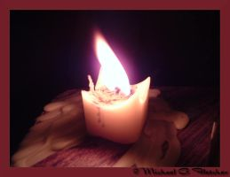Candle in the Dark by mgfletcher