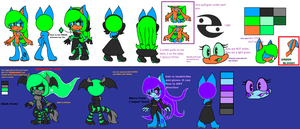 New Starfall Full Reference Sheet And Bio by scifiEnchantress