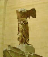 Nike of Samothrace by Rayelity