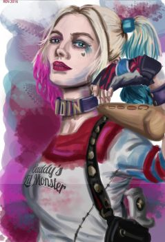 Ms Puddin' (Harley Quinn) by renmschuu