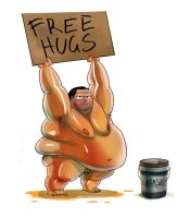 Free Hugs by PeteYong