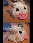 crotchet and pom pom poro by mio-san13