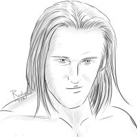 Heath Slater - traditional style by Roselyne777
