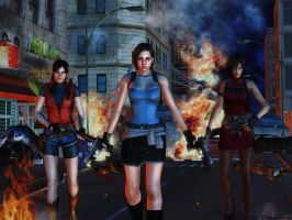 Resident evil wallpaper 29 by ethaclane