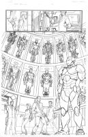 Iron Man Hall of armors by RobertAtkins