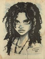 Tia Dalma SDCC Sketch 2011 by grantgoboom