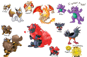 Pokefusions by xEvilxPenguinxNinjax