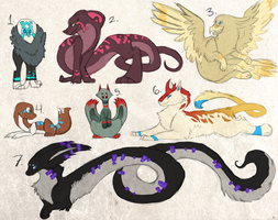 Point Adoptables (CLOSED) by DaPuddingz