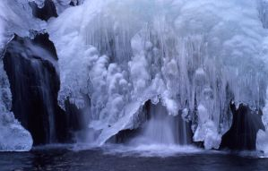 Ice Waterfall 147724 by StockProject1