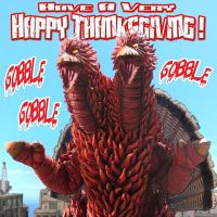 Happy Thanksgiving II by kaijuverse