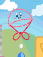 Parachute Kirby by clariecandy