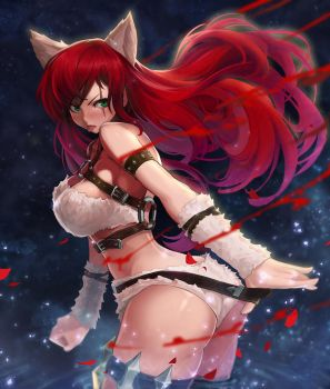 kitty cat katarina by goomrrat