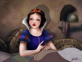 Suddenly Awakened From Her Nap by snowsowhite