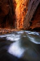 Deep in canyon by porbital