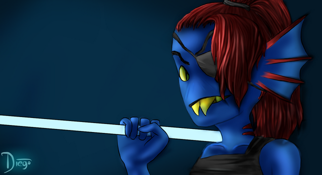 Undyne [Unfinished] by TrueQuantumCatalyst