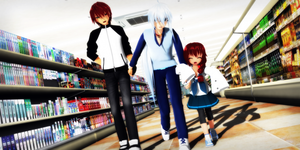 _MMD_ Family lifestyle by xXHIMRXx