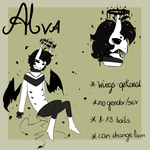 [Reference Sheet] - Alva by AlterSheep