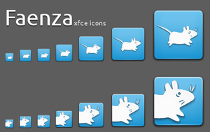 xfce Faenza icon set by Kira28