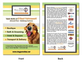 Flyer Dog Paradise New by InsightGraphic