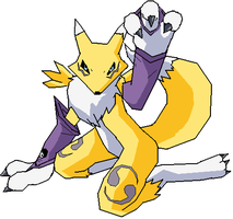 Renamon by NekoHime07