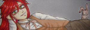 Bookmark Grell Sutcliff by Forunth