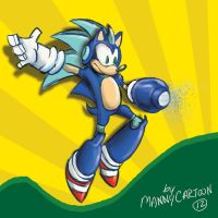 Mega Sonic by mannycartoon