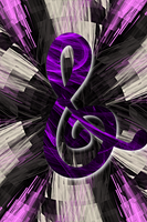 Fractal Flame Effect Cutie Mark - Octavia (iPhone) by uxyd
