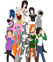 TDL-OCT: The Chicas by FreakyZombieChick