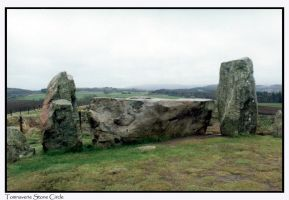 Tomnaverie Stone Circle IV by throwntothewolves