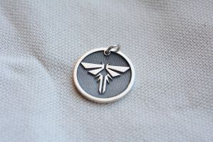 The last of us personalized firefly pendant by Worldofjewelcraft