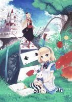 Alice in Wonderland by Shadow2810