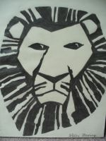 Lion king by Ayanami-The-Nuff