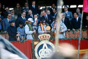 1973 Spanish Grand Prix Podium by F1-history