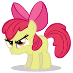 Applebloom Mad by imjoshdean