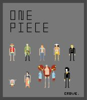 One Piece Crew by crowecrowe