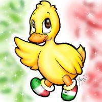 - Patriotic Patito - by vervex