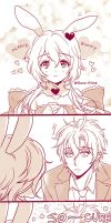 Hearte Bunny you so cute..! by kissai