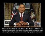 Obama: Where's the 'good' change? by Balddog4