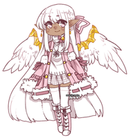 [ P ] Miibi the Angel by KingMiyo