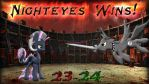 Pony Kombat New Blood 3 Final Battle Result by Macgrubor