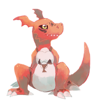 Guilmon by sweating