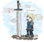 Cloud Would If He Could by Folkeye