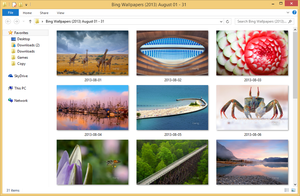Bing Wallpapers (2013) August 01 - 31 by Misaki2009