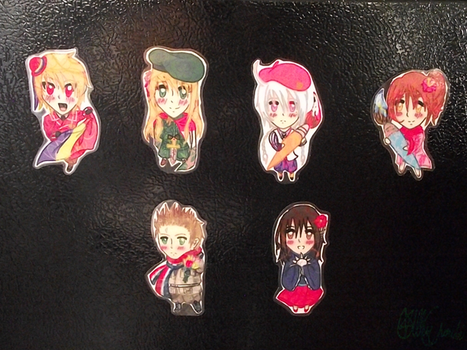 Magnets Complete Set by XInorix