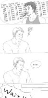 Steve and Tony after Pocky's Day 2 by sayatsugu