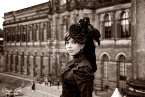 Lady in Dresden VI by LunaFeles