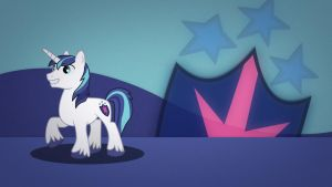 Shining Armor wallpaper minimalistic by Nidrax