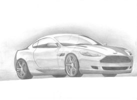 .Aston.Martin.DB9. by xc0rpio
