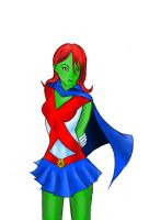 Miss Martian by girlwonder004